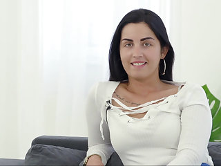 Hungarian hottie beyond hope cock